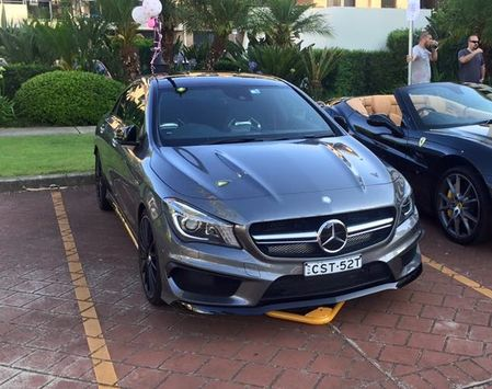 Mercedes CLA45 0 Wiley-park 10470